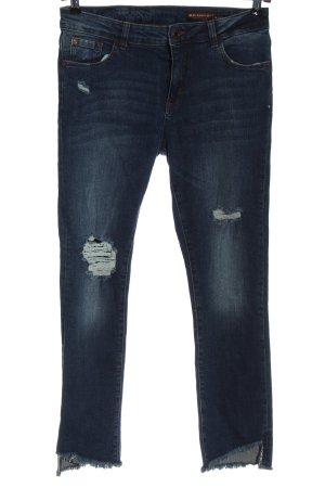 C&A Clockhouse Slim Jeans blau Casual-Look