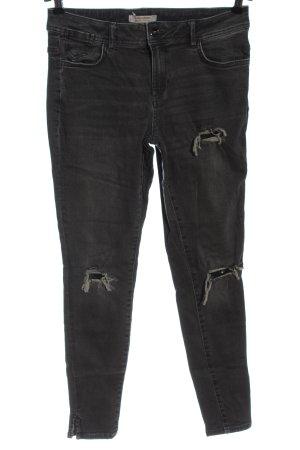 C&A Clockhouse Slim Jeans hellgrau Casual-Look