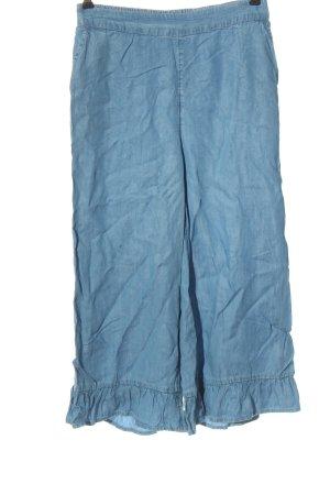 C&A Clockhouse Pantalón tipo suéter azul look casual