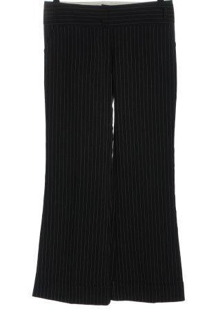 C&A Clockhouse Jersey Pants black-white striped pattern business style