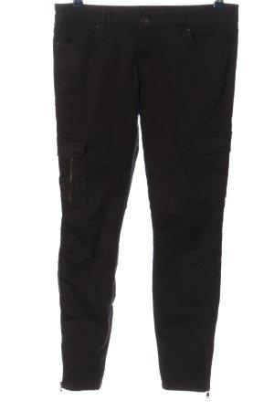 C&A Clockhouse Pantalón tipo suéter negro look casual