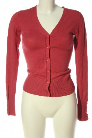 C&A Clockhouse Knitted Cardigan red casual look