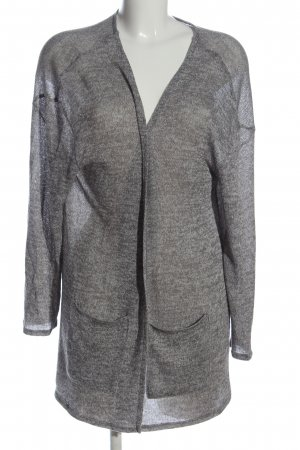 C&A Clockhouse Strick Cardigan hellgrau meliert Casual-Look