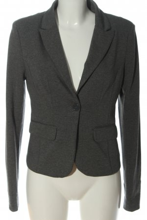 C&A Clockhouse Knitted Blazer light grey flecked casual look