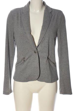 C&A Clockhouse Blazer in maglia grigio chiaro puntinato stile casual