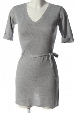 C&A Clockhouse Knitted Dress light grey flecked casual look