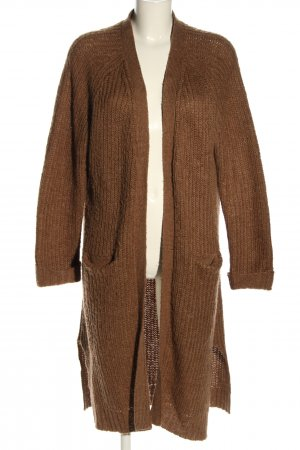 C&A Clockhouse Knitted Coat brown casual look