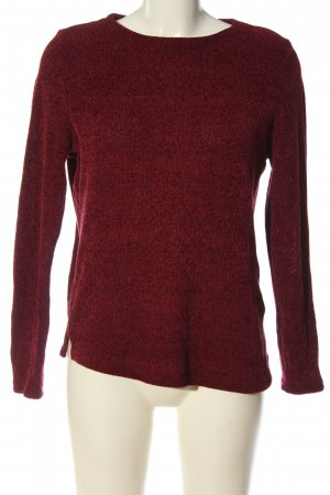 C&A Clockhouse Knitted Sweater red flecked casual look