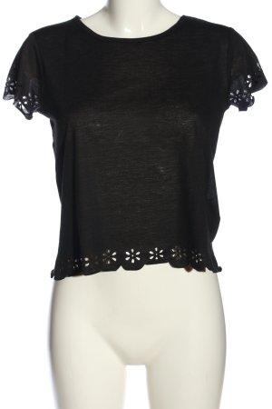 C&A Clockhouse Camicia maglia nero stile casual