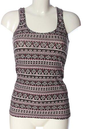 C&A Clockhouse Haut tricotés imprimé allover style décontracté