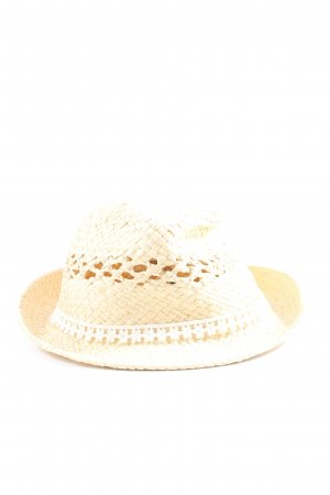C&A Clockhouse Straw Hat cream casual look