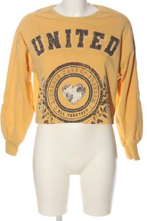 C&A Clockhouse Sweatshirt Motivdruck Casual-Look