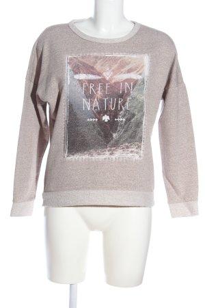 C&A Clockhouse Sweatshirt pink meliert Casual-Look