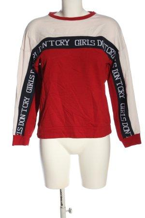 C&A Clockhouse Sweatshirt Schriftzug gedruckt Casual-Look