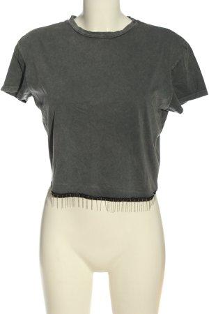 C&A Clockhouse T-shirt gris clair style décontracté