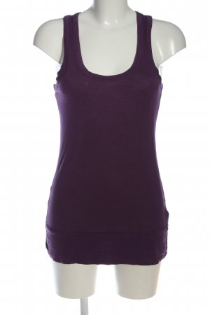C&A Clockhouse Tanktop fiolet W stylu casual