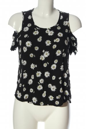 C&A Clockhouse Tank Top black-white allover print casual look