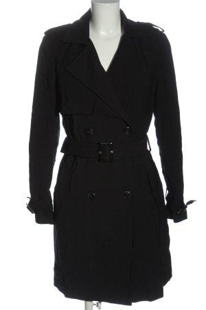 C&A Clockhouse Trenchcoat zwart-donkerblauw casual uitstraling