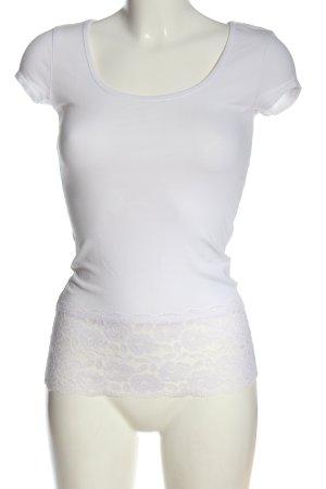 C&A Clockhouse U-Boot-Shirt weiß Casual-Look