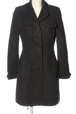 C&A Clockhouse Manteau mi-saison noir moucheté style décontracté