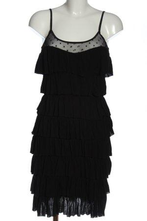 C&A Clockhouse Flounce Dress black elegant