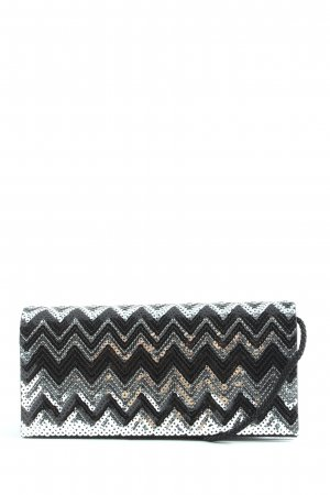 C&A Clutch schwarz-silberfarben Elegant