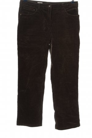 C&A Corduroy Trousers brown casual look