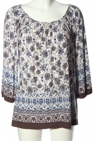 C&A Slip-over blouse volledige print casual uitstraling
