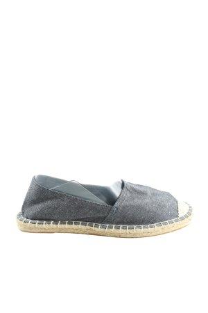 C&A Espadrilles-Sandalen blau-creme meliert Casual-Look