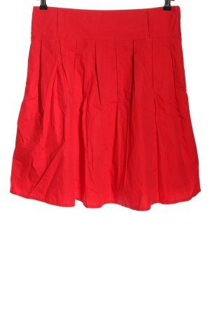 C&A Plisowana spódnica czerwony W stylu casual