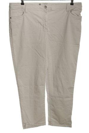 C&A Spodnie z pięcioma kieszeniami jasnoszary W stylu casual