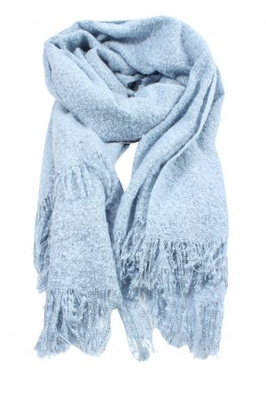 C&A Fringed Scarf blue casual look