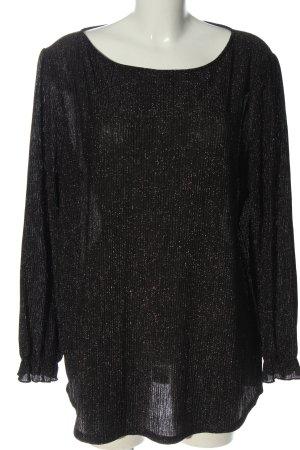 C&A Połyskująca bluzka czarny Elegancki