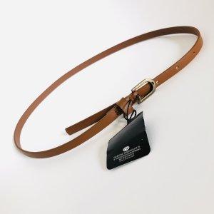 C&A Faux Leather Belt brown-cognac-coloured