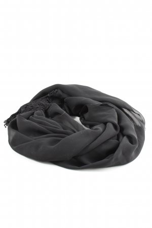 C&A Foulard noir style décontracté