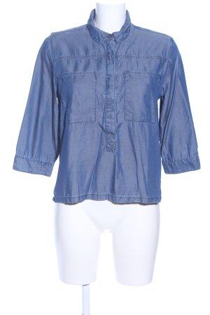 C&A Hemd-Bluse blau Casual-Look