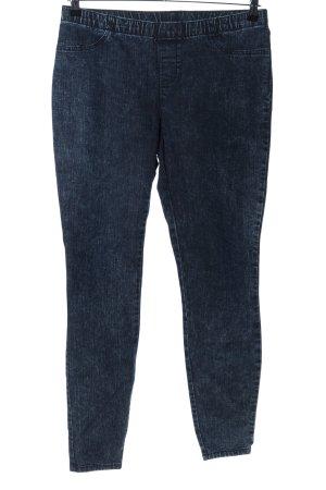 C&A High Waist Jeans blau meliert Casual-Look