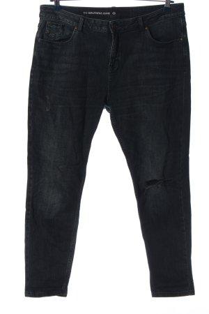 C&A Jeans taille haute noir style décontracté