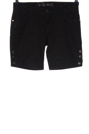 C&A High-Waist-Shorts schwarz Casual-Look