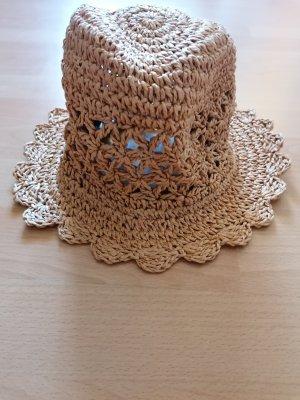 C&A Cappello di paglia marrone chiaro-beige