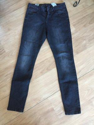 C&A Jeans Superskinny schwarz