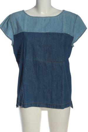 C&A Jeansbluse blau Casual-Look