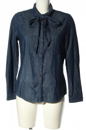 C&A Jeanshemd blau meliert Casual-Look