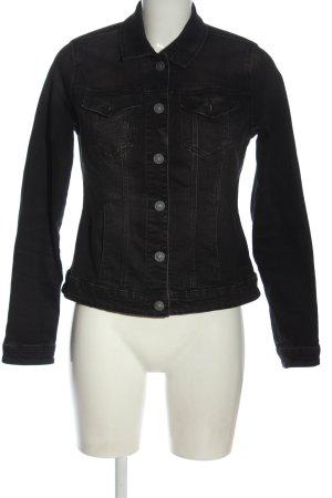 C&A Veste en jean noir style décontracté