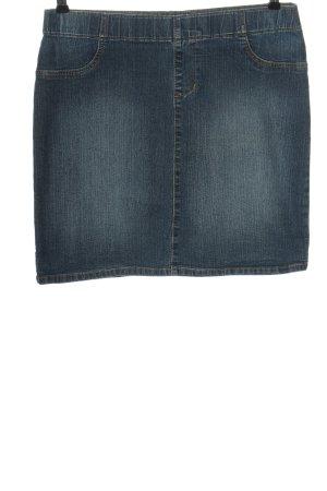C&A Denim Skirt blue casual look