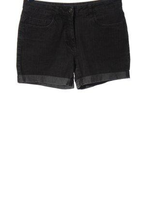 C&A Pantaloncino di jeans nero stile casual
