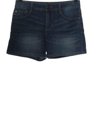 C&A Pantalón corto de tela vaquera azul look casual