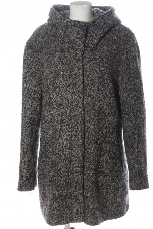 C&A Hooded Coat light grey flecked casual look