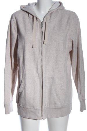 C&A Kapuzensweatshirt creme meliert Casual-Look