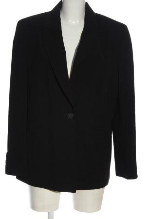 C&A Klassischer Blazer zwart casual uitstraling